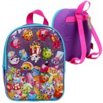Shopkins Purple Mini Backpack - 10
