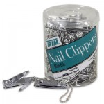 Nail Clipper with Key Chain Holder Container