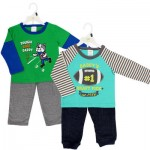 Baby Gear Boys' Sports 2-piece Pant Set - Asst