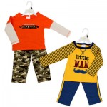 Baby Gear Infant Boys' Little Man Pant Set - Asst