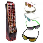Assorted Stylish Sunglasses Display