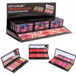 City Color Lenticular 5-pan Lip Gloss Palette-Asst