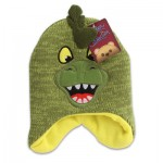 Critter Collection Hats Boys Embroidered Hat Green