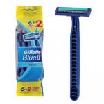 Gillette Blue II Plus Razor 8-pack