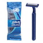 Gillette Blue II Chromium Coated Razor 5-pack