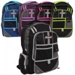 ProSport Backpack with 4 Front Pockets - Asst  17