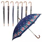 Umbrella with Printed Design - Asst  30