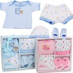 Little Mimos 4-piece Layette Set - Asst