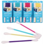 Kroger Plastic Cotton Swab 300ct - Asst
