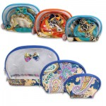 3-piece Cosmetic Bag - Assorted
