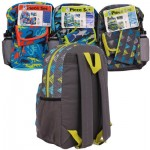 Animal Backpack with Lunch Bag and Pouch - Asst