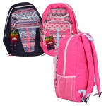 Trailmaker Tribal Backpack w/2 Front Pockets -Asst