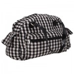 MESSENGER BAG  PLAID CANVAS