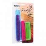 Plastic Comb 10-pack