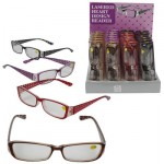 READING GLASSES LASERED HEART