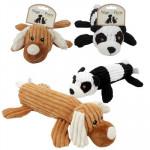 KellyToy Corduroy Bottle Pet Toy - Asst  13