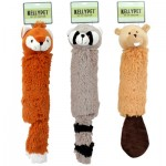 Forest Creature w/Water Bottle Pet Toy -Asst  12