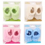 Little Mimos Adjustable Baby Booties - Asst