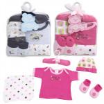 Little Mimos Baby Washcloth 5-piece Set - Asst