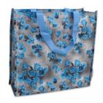 Blue Rose Shopping Bag - 15