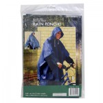 Blue Rain Poncho - Unisex