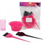 4-piece Hair Coloring Kit