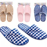 Bath Essentials Striped Slippers - Assorted