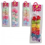 Hair Bow 7-pack - Assorted