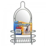 Shower Caddy with Mirror - 14.5