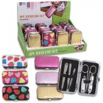 Manicure Set in Purse Display - Assorted