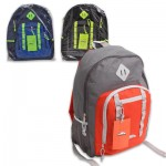Trailmaker Backpack with Neon Straps - Asst  17