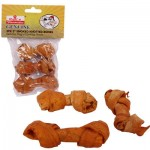 Pet's Favorites Smoked Knotted Bone 3-pack