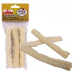 Pet's Favorites White Beef Hide Roll 3-pack