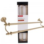 Delta Double Towel Bar - Champagne Bronze  24