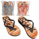 High Wedge Beach Flip Flops - Assorted