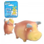 Soleil Pet's World Squeaky Bull Pet Toy - 3.5