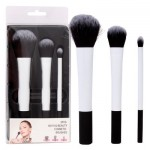 Bath and Beauty Cosmetic Brush 3-piece Set