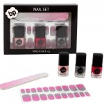Ombre Glittered Nail Set