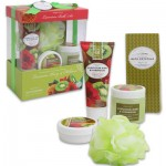 Aromanice Hibiscus and Kiwi Bath Set in Gift Box