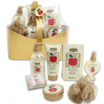 Paper Box Sugar Apple and Vanilla Bean Bath Set