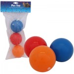 Pet Toy Squeaky Ball 3-pack