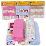 Little Mimos Washcloth 4-pack - Assorted