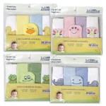 Little Mimos Wash Cloth 5-pack - Assorted  7