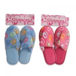 Slippers with Swirls - Assorted