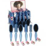 Beauty Design Blue Hair Brush Display - Asst  9
