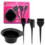 Hair Coloring Kit 4-piece Set
