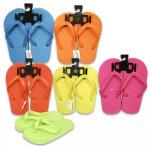 Kids' Neon Flip Flops - Asst