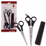Barber Scissors with Comb Set