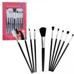 8pc Plastic Cosmetic Brush Set