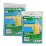 Adult Vinyl Poncho - Asst  52x80